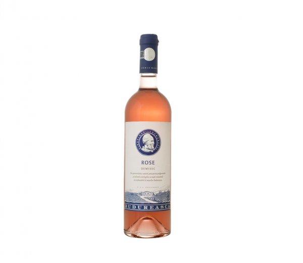 vin-budureasca-rose-demisec-sarapretzel-restaurant-otopeni
